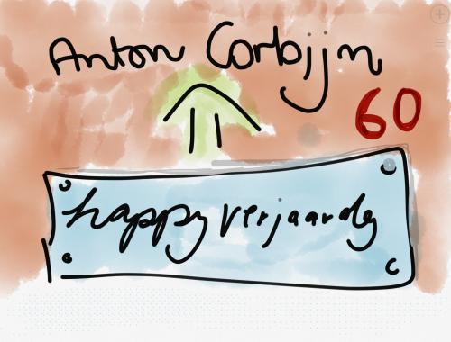Geburtstagskarte für Anton Corbijn