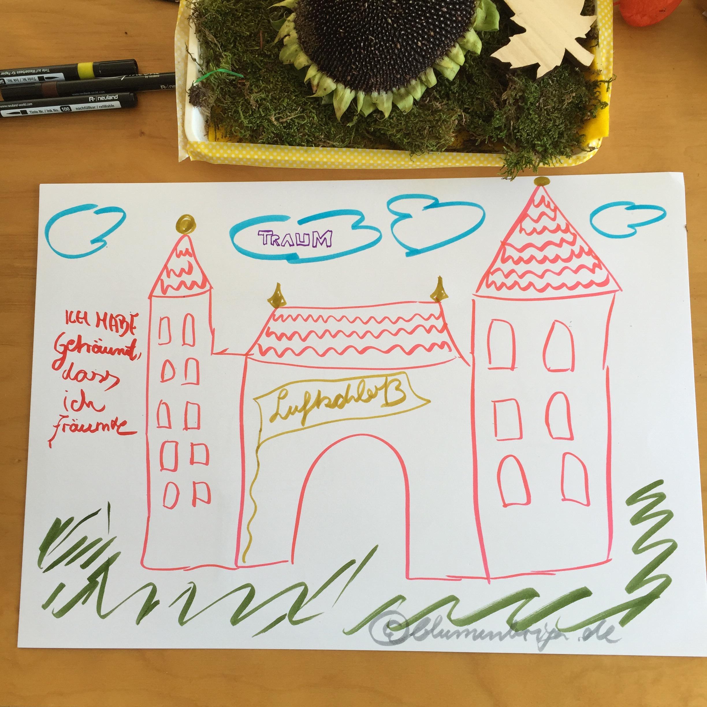 Sketch zu Traum bei der 30daysdraworletter challenge