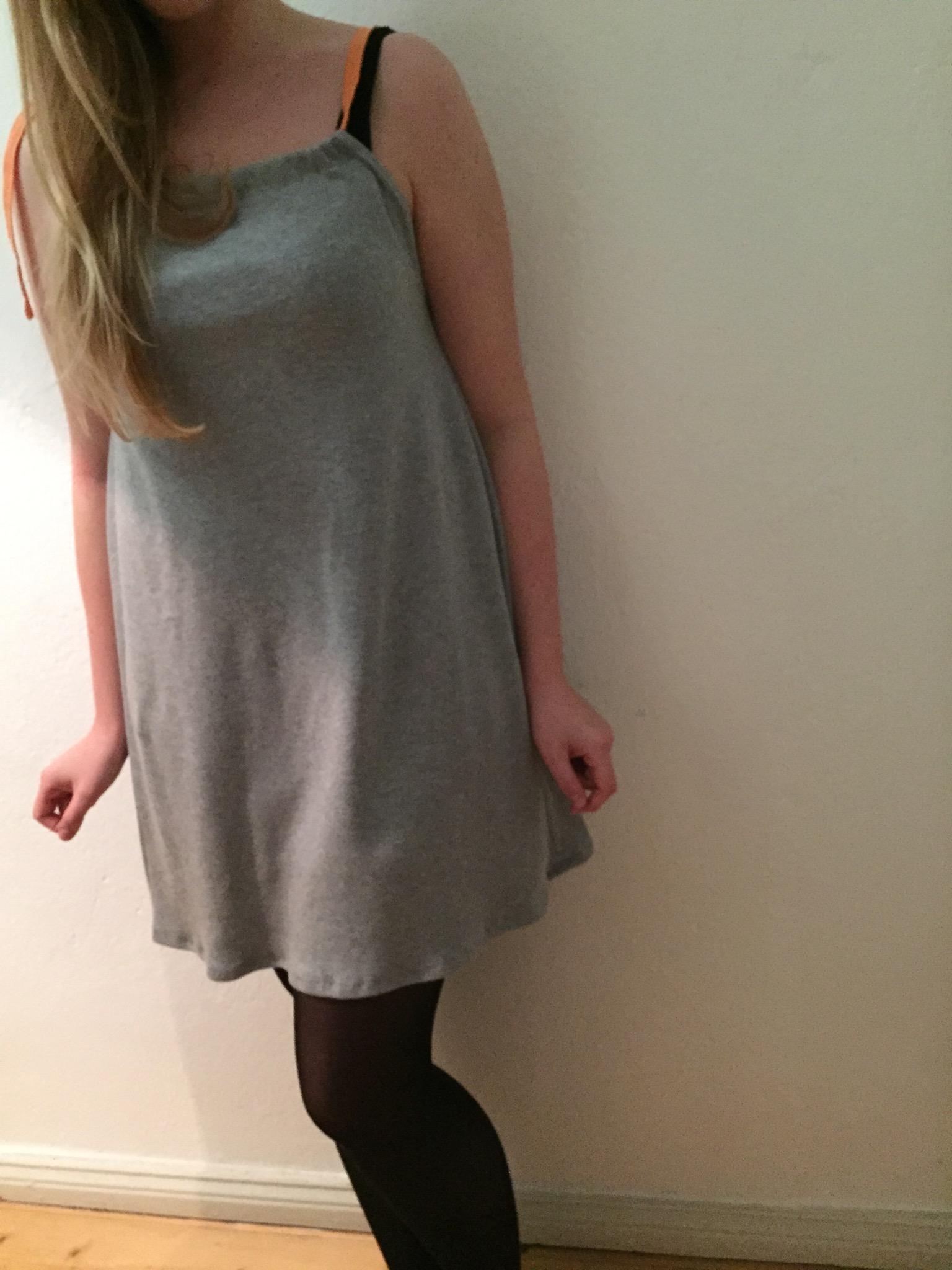 Schnelles Sweat-Kleid