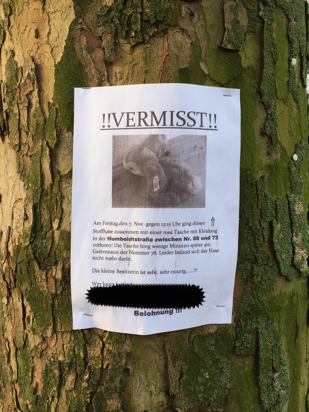 Plüschtiersuchbild Bremen