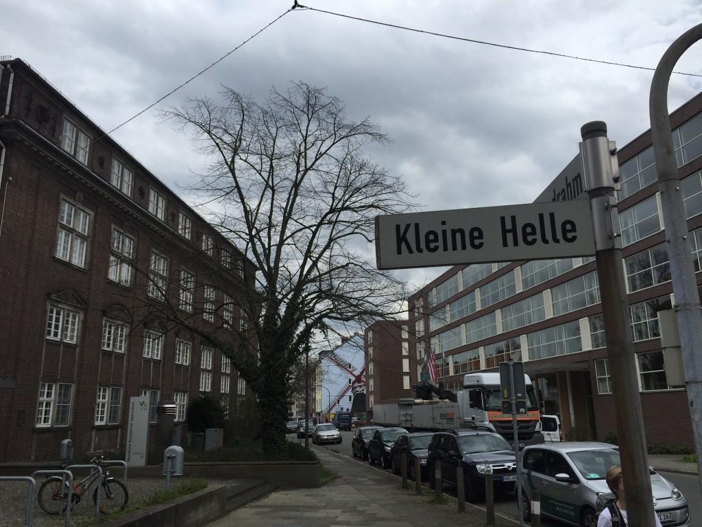 Straße Kleine Helle in Bremen