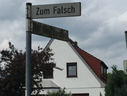 Zum Falsch, Straße Bremen