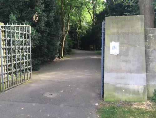 Eingang Friedhof Huckelriede