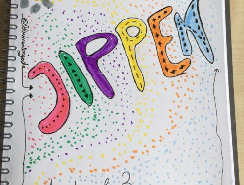 Jippen gezeichnet