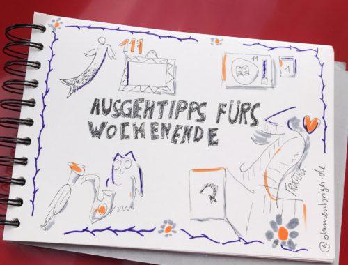 Zeichnung Ausgehtipps Bremen Sketchnote