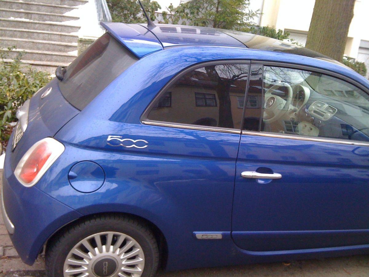 Fiat 500 Blaumetallic