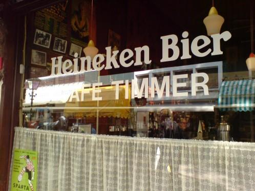 Café Timmer in Rotterdam, Niederlande